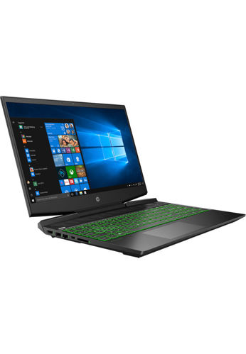 """Picture of HP Pavilion Gaming Laptop 15-dk1133TX 15.6"""" FHD (i7-10750H, 512GB SSD+32GB 3D Xpoint, 8GB, NVIDIA GTX 1660Ti Max-Q 6GB, W10H) - Black [FREE] HP Pavilion Backpack (Grab/Touch & Go credit redemption : 1/2-28/4*)"""