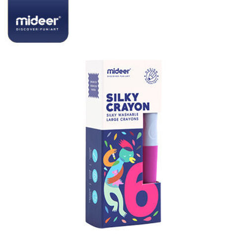 Picture of Mideer Silky Crayon-6 Colours