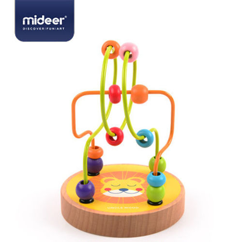 Picture of Mini Wooden Beads Maze-Lion