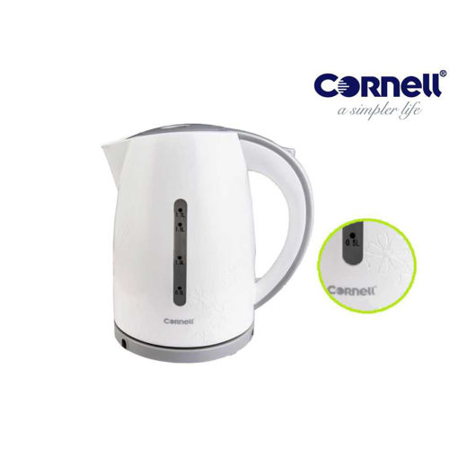 Picture of Cornell Cordless Jug Kettle - Unique with Flower Pattern|CJK-S176C|Fast Heating Coffee & Tea