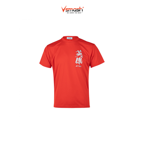 Picture of Yonex Graphic Tee 16463Y (Flash Red)