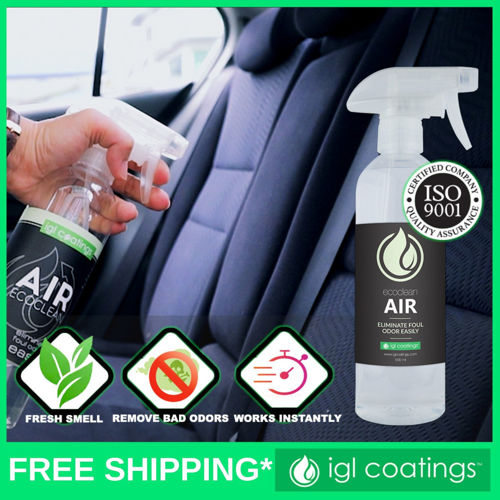 Picture of IGL Coatings Ecoclean Air - Odour Eliminator Deodoriser Germs Bad Smell Remover For All Surfaces 5L