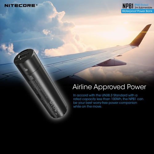 Picture of NITECORE NPB1 Quick-Charge USB Power Bank