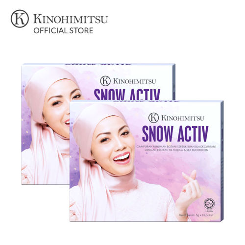 Picture of [NEW LAUNCH] Kinohimitsu Snow Activ 15's x 2 Boxes