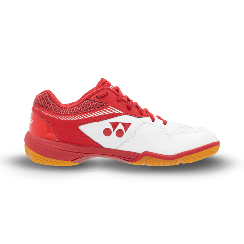 Picture of Yonex Power Cushion 65Z2 Wide Mens Badminton Shoes (White Red)