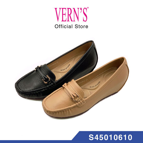 Picture of VERN'S Comfy Mocassin Wedges - S45010610