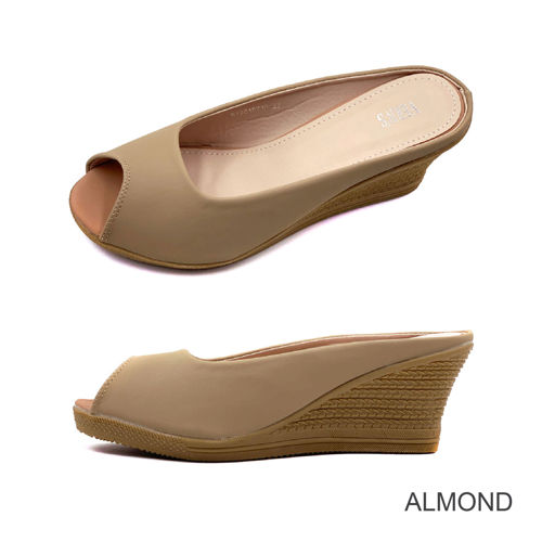 Picture of VERN'S Peep Toe Wedge - S19015710