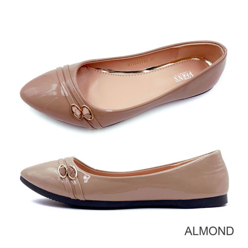 Picture of VERN'S Pointed Toe Flat Pumps - S11031110