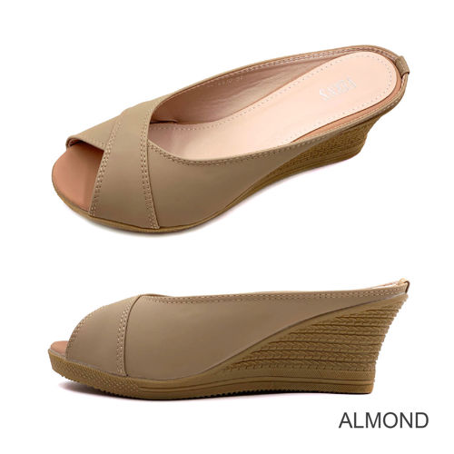 Picture of VERN'S Peep Toe Wedge - S19015910