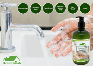 Picture of GREENWIISH Concentrated  Hand Soap / Pencuci Tangan Pekat  (500ml)